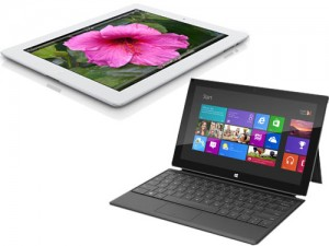 Microsoft surface apple ipad